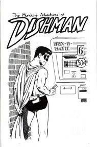DISHMAN #6 Canadian mini-comic JOHN MACLEOD 1991