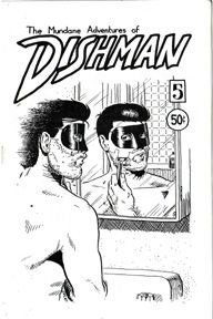 DISHMAN #5 Canadian minicomic JOHN MACLEOD 1989 *SALE 40% off