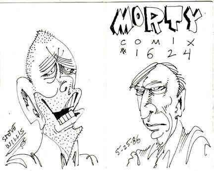 MORTY COMIX #1624 original art STEVE WILLIS 1986 *SALE 40% off