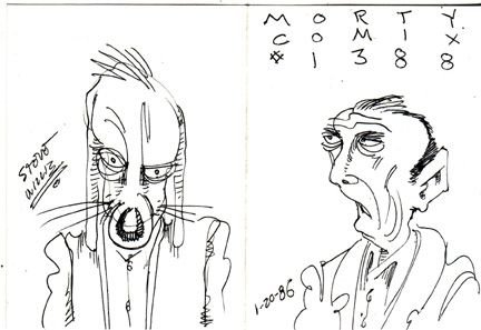 MORTY COMIX #1388 original art STEVE WILLIS 1986 *SALE 40% off