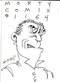 MORTY COMIX #1164 original art STEVE WILLIS 1985 *SALE 40% off