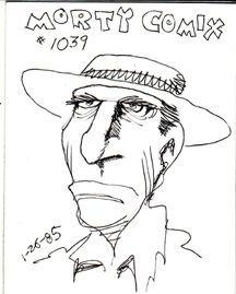 MORTY COMIX #1039 original art STEVE WILLIS 1985 *SALE 40% off