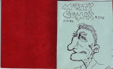 MORTY COMIX #326 original art STEVE WILLIS 1983