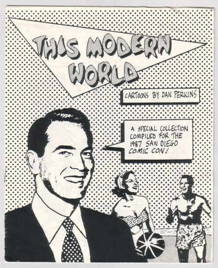 THIS MODERN WORLD mini-comic TOM TOMORROW 1987 San Diego *SALE 40% off