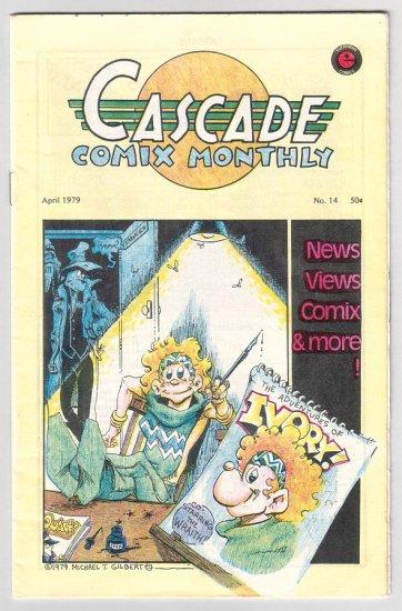CASCADE COMIX MONTHLY #14 art spiegelman MICHAEL T. GILBERT 1979 *SALE 40% off