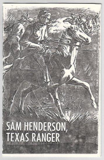 SAM HENDERSON, TEXAS RANGER mini-comic 1993 *SALE 40% off