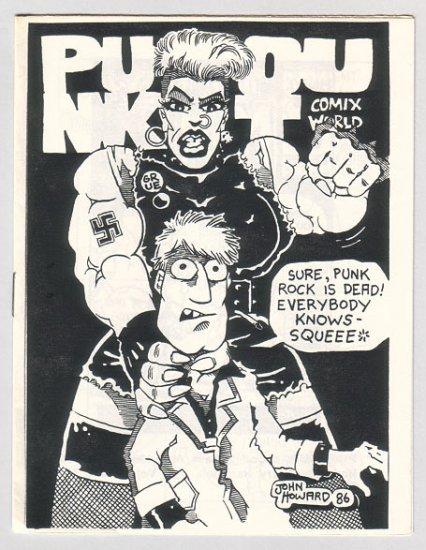 PUNK OUT mini-comic JOHN HOWARD Garry Hardman 1986