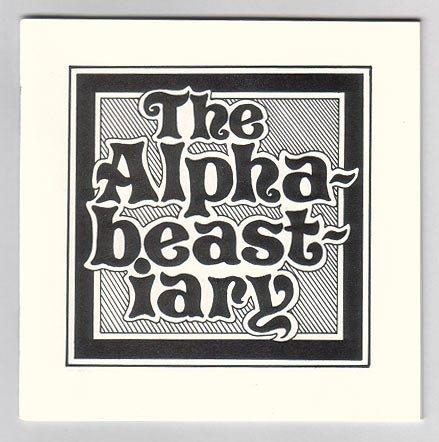 ALPHABEASTIARY mini-comic BRAD FOSTER 1984