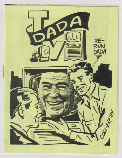 DADA TV mini-comic J.R. WILLIAMS Brad Foster STEVE WILLIS 1985