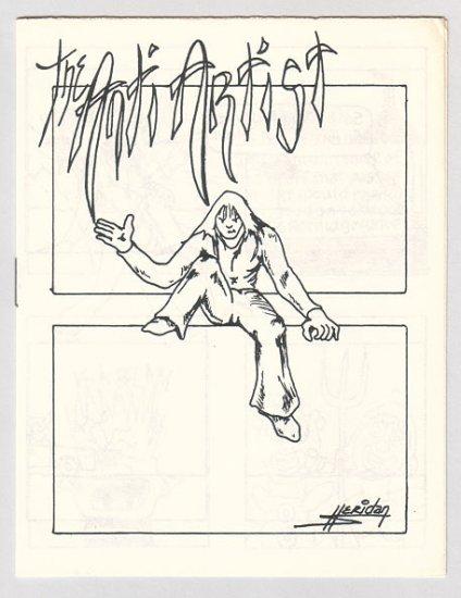 THE ANTI ARTIST mini-comic BOB SHERIDAN 1980s