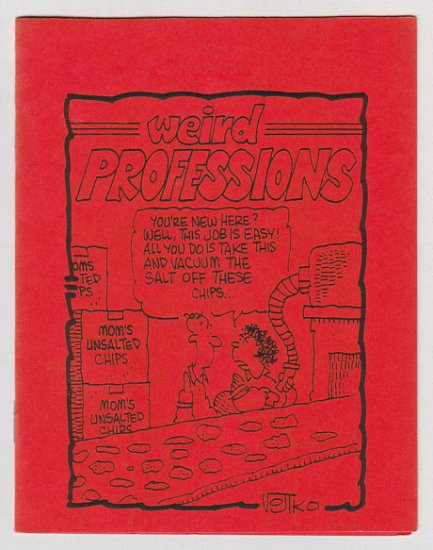 WEIRD PROFESSIONS mini-comix BRAD FOSTER Kevin Eastman 1983