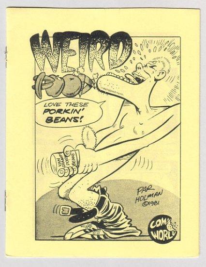 WEIRD FOOD mini-comix BRAD FOSTER Par Holman 1982