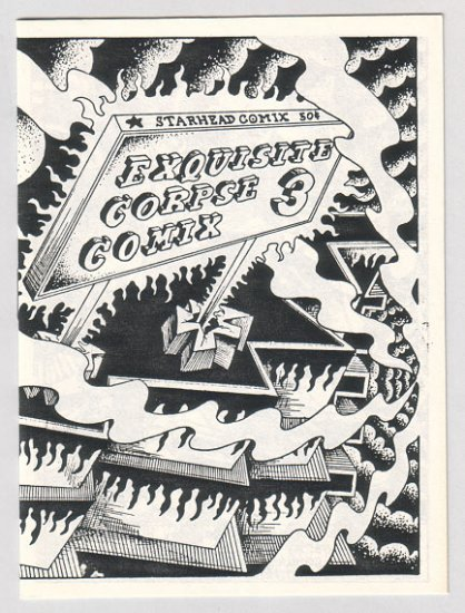 EXQUISITE CORPSE COMIX #3 minicomic BRAD FOSTER Bill Shut