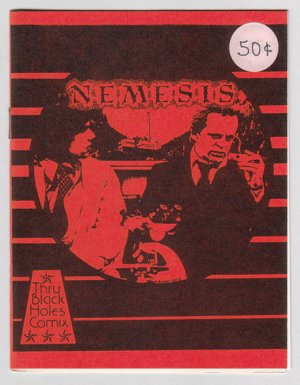 NEMESIS #8 mini-comic MICHAEL RODEN underground comix art brut 1981