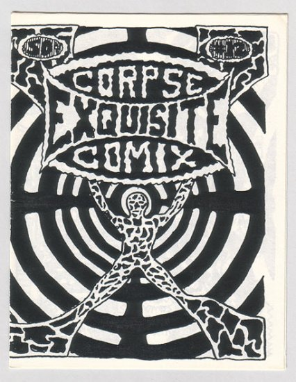 EXQUISITE CORPSE #12 mini-comic BILL SHUT John E. 1980s