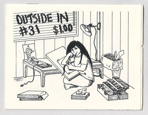 OUTSIDE IN #31 mini-comic DONNA BARR Matt Broersma 1989