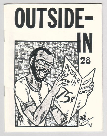 OUTSIDE IN #28 minicomic HARVEY KURTZMAN Donna Barr 1988