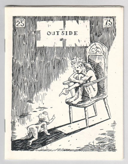 OUTSIDE IN #25 minicomic MARY FLEENER Steve Willis 1987