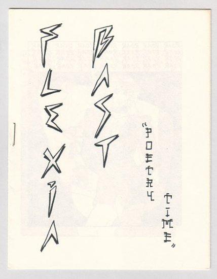 FLEXIA BAST mini-comic DOUG HOLVERSON 1983