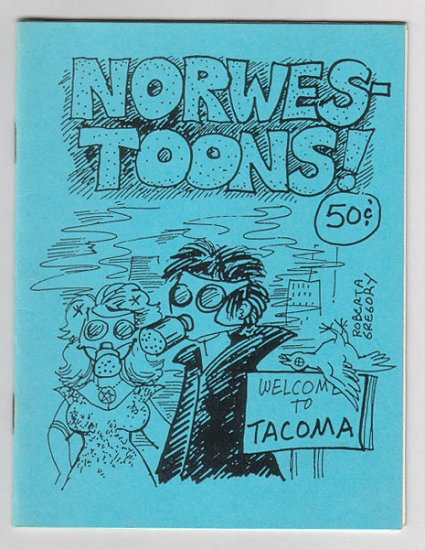 NORWESTOONS mini-comic ROBERTA GREGORY 1990