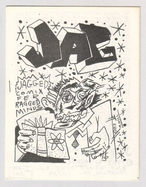 JAG mini-comic MIKE HILL 1984 newave comix M. Hill