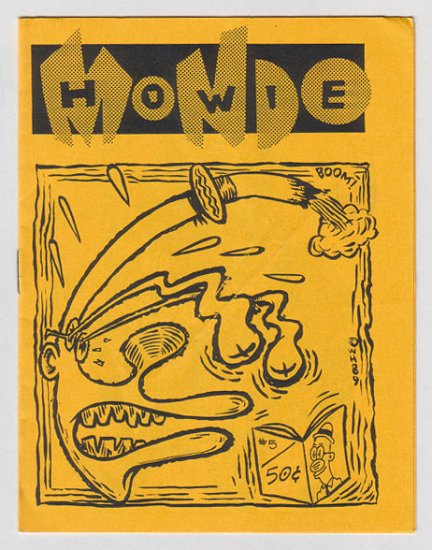 MONDO HOWIE #5 mini-comic WAYNO George Coleman WILLIAM BUNCH 1989
