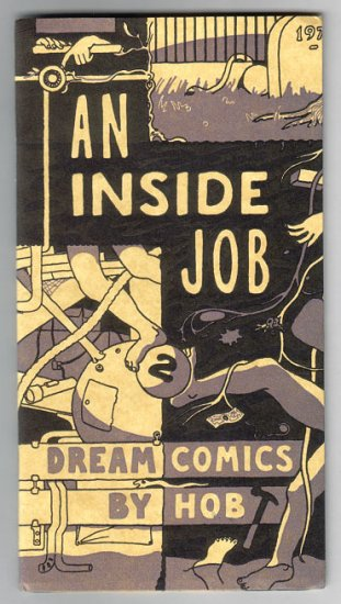 AN INSIDE JOB #2 mini-comic HOB Eli Bishop 2002