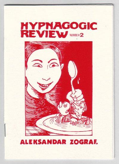 HYPNAGOGIC REVIEW #2 mini-comic ALEKSANDAR ZOGRAF 1999