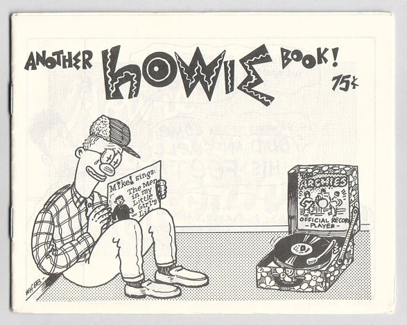 ANOTHER HOWIE BOOK mini-comic WAYNO 1988