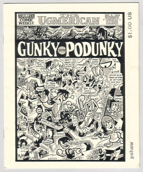 GUNKY FROM PODUNKY mini-comic PSHAW 2000