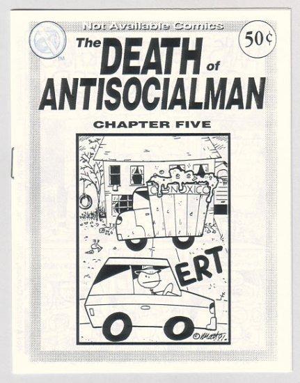 DEATH OF ANTISOCIALMAN #5 mini-comic MATT FEAZELL