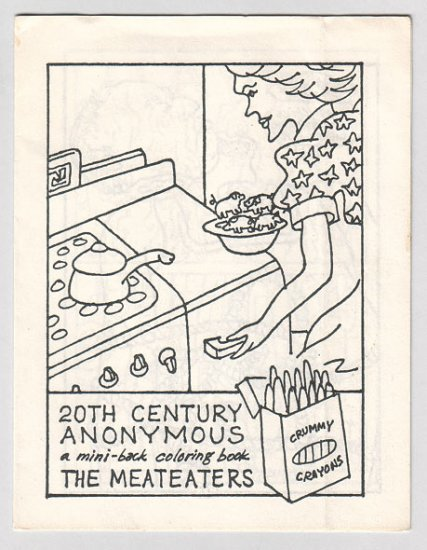 THE MEATEATERS mini-comic FRED BURKHARDT 1975