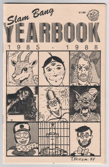 SLAM BANG YEARBOOK mini-comic FLEENER Foster MILLER 1988