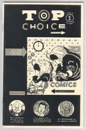 TOP CHOICE #1 mini-comic GREG STUMP 1995
