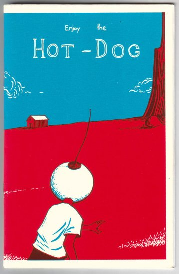 ENJOY THE HOT-DOG mini-comic LEVON JIHANIAN 2002
