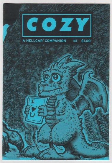 COZY #1 mini-comic ERIC KNISLEY Mike Houston 2003