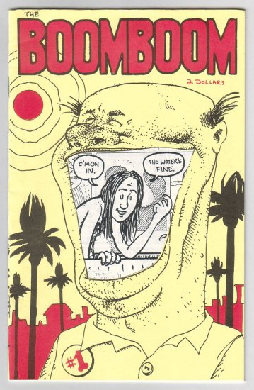 BOOM BOOM #1 mini-comic DAVID LASKY 1993 signed and numbered
