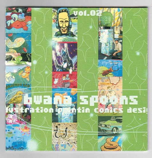 BWANA SPOONS VOL. 2 artist portfolio sample book
