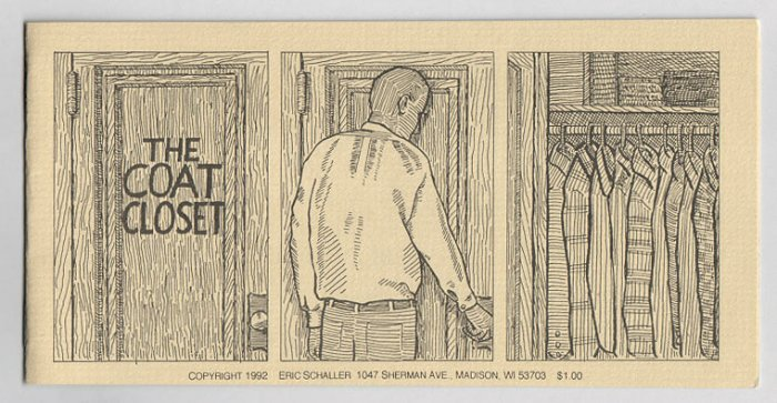 THE COAT CLOSET mini-comic ERIC SCHALLER 1992