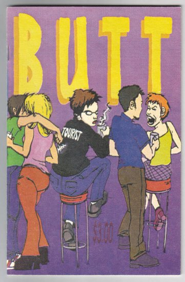 BUTT mini-comic ALICE PINE 1998 comix