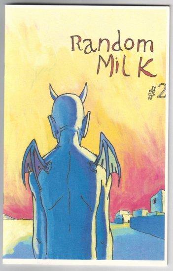 RANDOM MILK #2 mini-comic MARTIN CENDREDA 2000