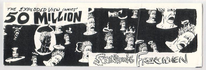 THE EXPLODED VIEW #1 mini-comic HANK ARAKELIAN 1992