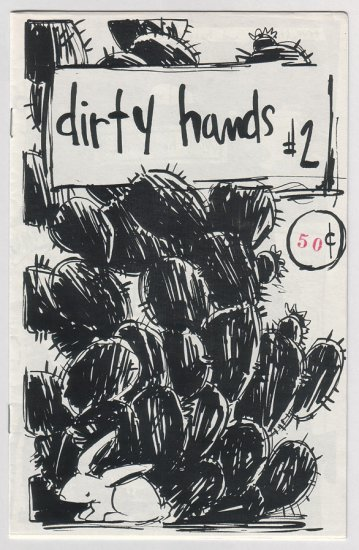 DIRTY HANDS #2 mini-comic JERRY SIMS 1993