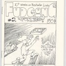 FUDGONG FUNNIES #2 minicomic J.P. MORGAN 1985