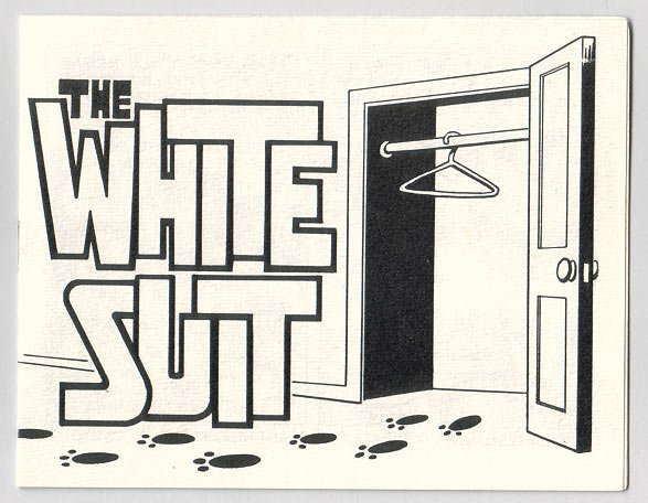 THE WHITE SUIT mini-comic BILLY FUGATE 1983