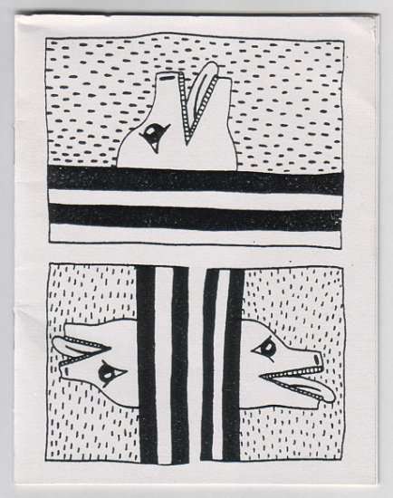 KEITH HARING untitled mini-comic 1982 Appearances Press