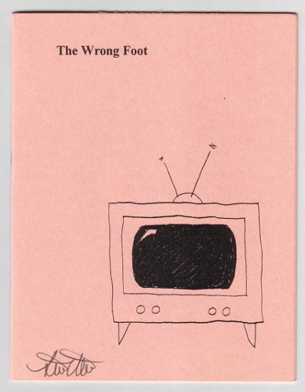 THE WRONG FOOT minicomic zine STEVE WILLIS signed