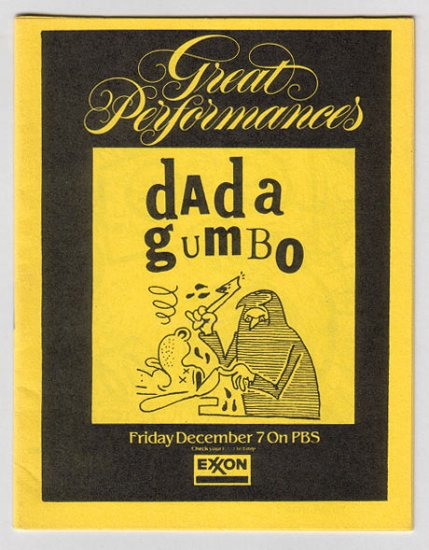DADA GUMBO #7 Chester Brown PIZZ Michael Roden J.R. WILLIAMS Steve Willis '85