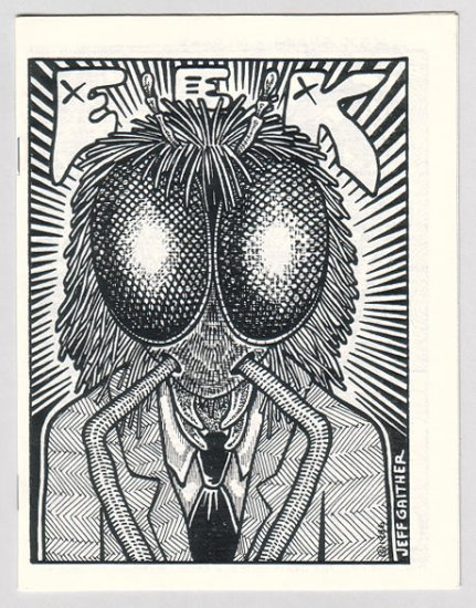 EEK mini-comix JEFF GAITHER 1986 XEX insects