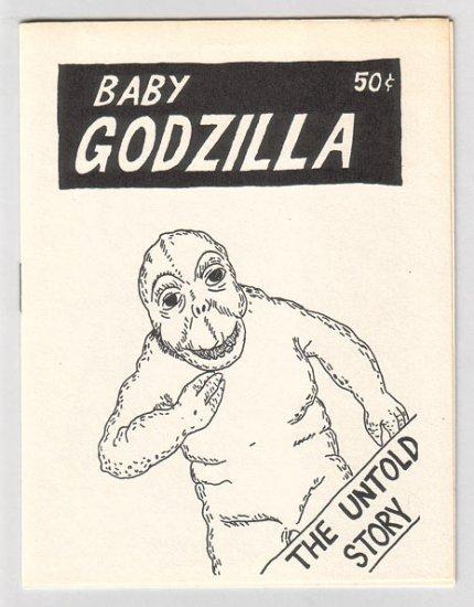 BABY GODZILLA mini-comic WAYNO 1985 1st edition